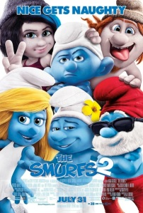 Smurfs2poster